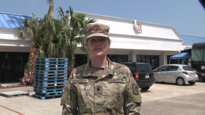 Oklahoma Army National Guard Provide Hurricane Relief Efforts around Sinton, Texas