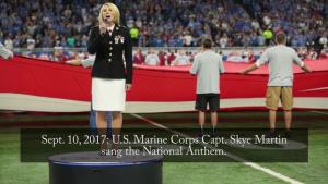 Marine Week Detroit: Detroit Lions Football Game
