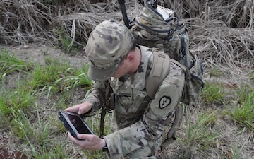 Electronic warfare specialists train on VROD systems B-roll