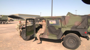 Oklahoma National Guardsmen Support the Texas National Guard with Hurricane Harvey Relief