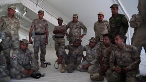 Iraqi Security Forces conduct medical training (Broll)