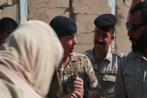 Iraqi Security Forces conduct Mine Clearing Line Charge training