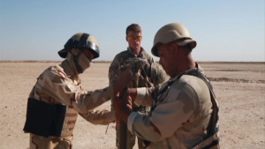 Iraqi security forces combat engineer training