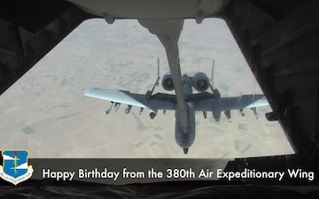 An Air Force Birthday Message from the 380 AEW