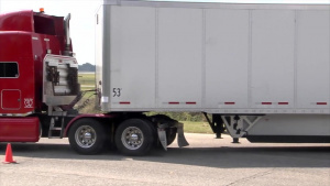 Trucks leaving Maxwell AFB with Hurricane Relief Supplies - 14 Sept 2017