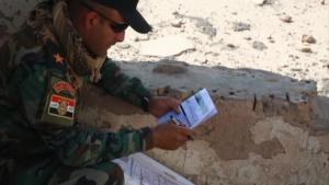 Iraqi security forces closed combat attack training
