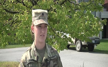 Spc. Charnley Interview
