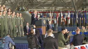POTUS Speaks at JBA
