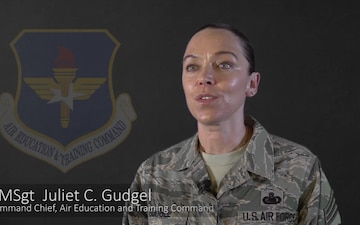 CMSgt Gudgel discusses Blended Learning
