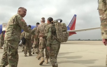 40th Infantry Division Deployment Send-Off