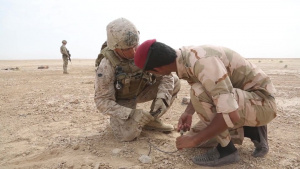 Combined Joint Task Force- Operation Inherent Resolve Iraqi Security Forces Counter I.E.D Training Broll