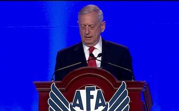 Mattis Speaks at AFA Conference