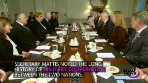 Mattis Meets With Australian Defense Minister