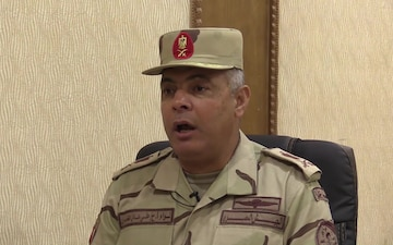 Interview with Egyptian Maj. Gen.  Ali Adel at Bright Star 2017