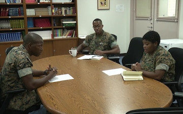 Enlisted sailor aids chaplain's mission(Package/Pkg)