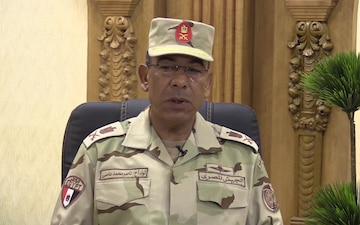 Interview with Maj. Gen. Nassr Assy during Exercise Bright Star 2017