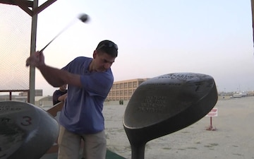 Camp Arifjan MWR Hosts golf competition