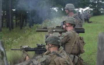 2nd LAR Conducts Rocket Battle Drills