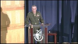 Dunford Provides Keynote at NDU Ceremony