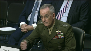 Dunford Testifies at SASC for Reappointment, Part 1