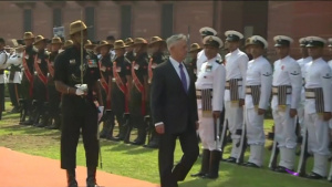 Defense Secretary Visits India