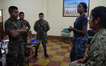 Hospital Corpsman Teaches Guatemalan Sailors Combat Life Saving During Southern Partnership Station 17