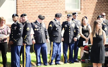 Memorial Service for Arkansas Army National Guard Pilot - Chief Warrant Officer 2 Rufus Ferron Brown