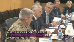 Mattis Lands in Kabul