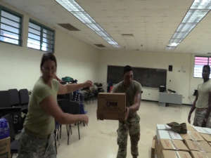 National Guard Delivers Food to St. Croix Residents