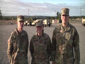 Go Army! Beat UTEP! Group 1: PFC Chad Tiffany, Krystina Hartwell,