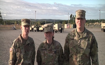 Go Army! Beat UTEP! Group 1: PFC Chad Tiffany, Krystina Hartwell, Sean Frank