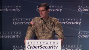CENTCOM Commander GEN Joseph Votel speaks at the 8th Annual Billington CyberSecurity Summit