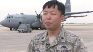 Maj. June Chung talks about Hurricane Maria Relief Efforts