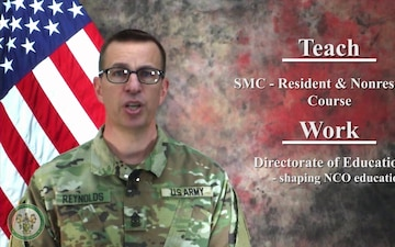 United States Army Sergeants Major Academy Fellowship Program Commercial