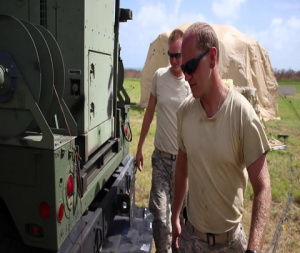 Air National Guardsmen operate & maintain mobile air traffic control in St. Croix