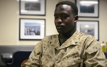 MEU Minute: Why Cpl. Devonte Perry joined the Marine Corps