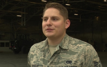Grand Forks Air Force Base Airmen Assist in Hurricane Relief Interview 03