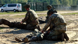 1-91 Cavalry Practices Mass Casualty Response