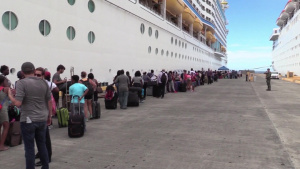 Carnival Cruise Helps Evacuate St. Croix