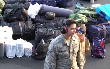 Hawaii Air National Guard Supports Hurricane Maria Relief Mission