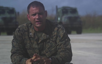 Hurricane Maria: BLT 2/6 Battalion Commander's Interview on Relief Efforts in Puerto Rico