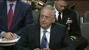 Mattis, Dunford Testify Before Senate Armed Services Committee, Part 1