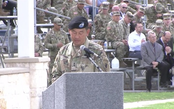 US Army South Change of Command