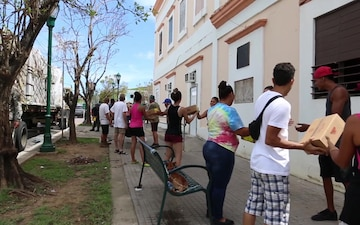 Meals, Ready-To-Eat delivery to Vieques B-Roll