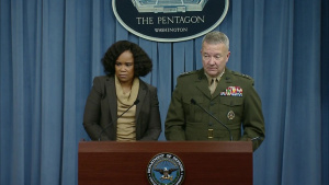 Pentagon Chief Spokesperson, Joint Staff Director Hold News Conference