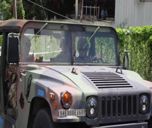 National Guard MPs assist Virgin Islands PD with enforcement of public law