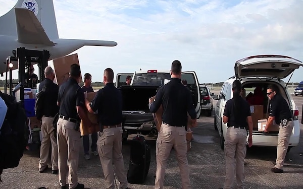 CBP Transports Former Surgeon General to Puerto Rico as part of Hurricane Maria Relief Efforts