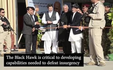 Afghan Air Force Black Hawk Ceremony