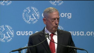 Mattis Speaks at AUSA Annual Meeting