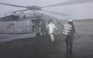 Water is Unloaded in Puerto Rico